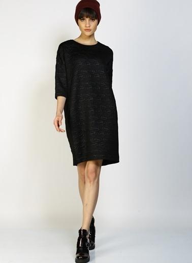 Limon Company Truvakar Kol Salaş Elbise Siyah